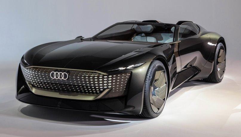 Audi показала раздвижной электромобиль Skysphere