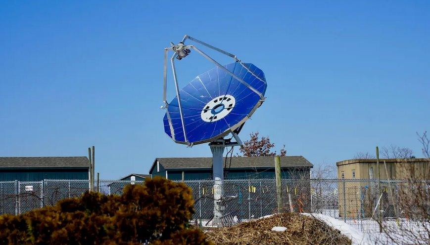 Новый гелиоконцентратор преобразовывает солнечный свет в тепло с эффективностью 72
