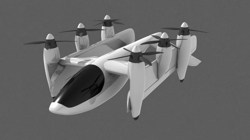 Уникальный электросамолет PteroDynamics аэродинамически безупречен во всех режимах полета