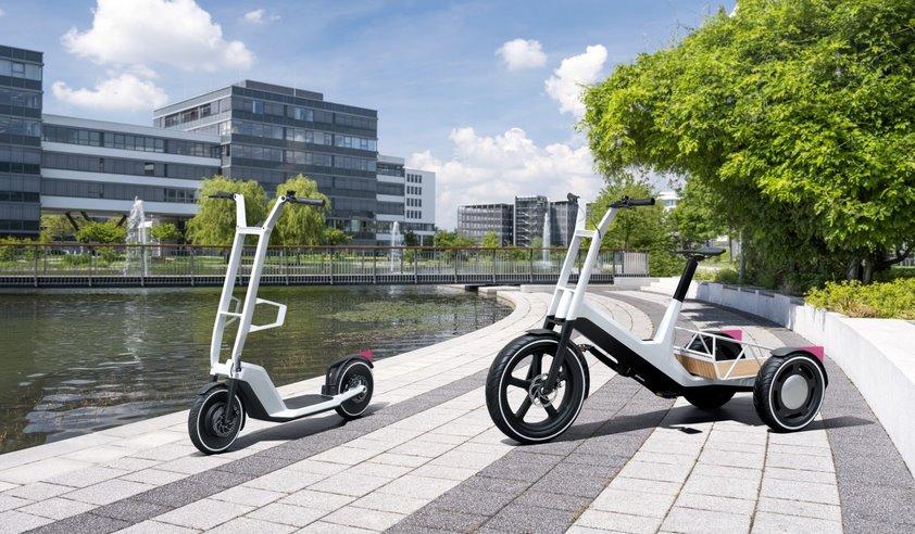 BMW представила электрический самокат и грузовой велосипед