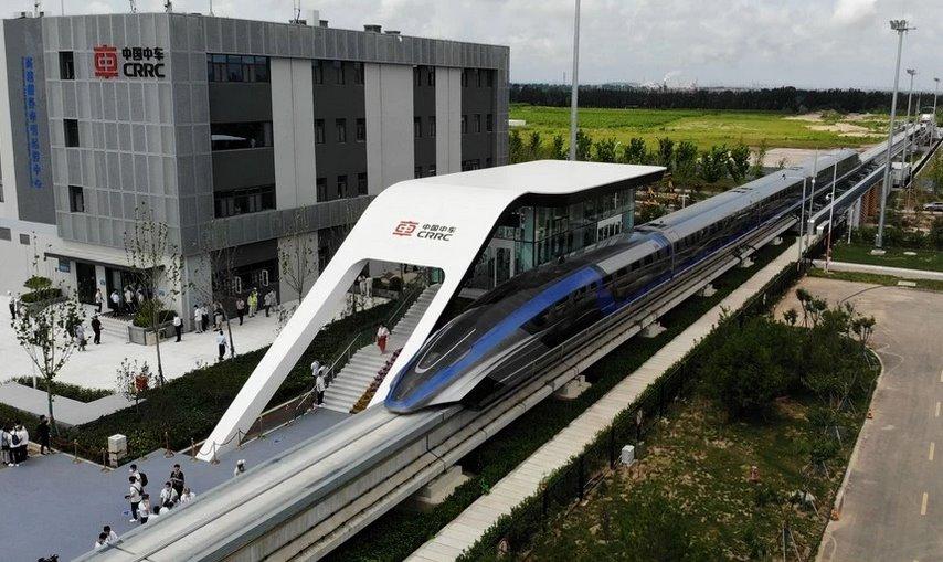 В Китае создали самый быстрый на планете поезд на магнитной подушке