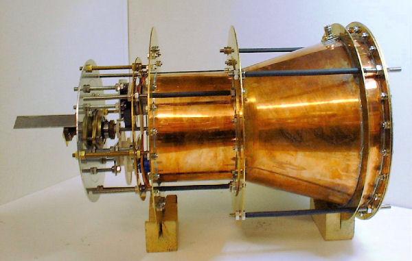 Двигатель на электромагнитной тяге прототип EmDrive