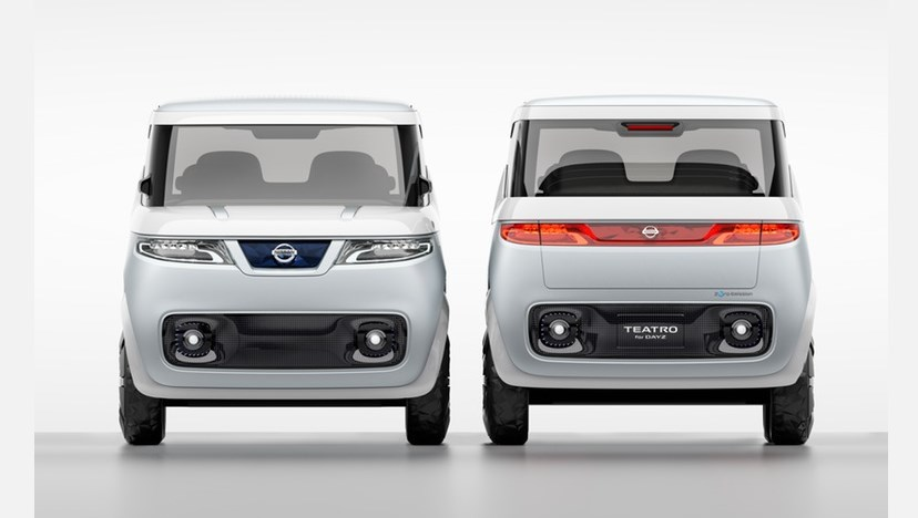 Nissan Teatro for Days conceptcar