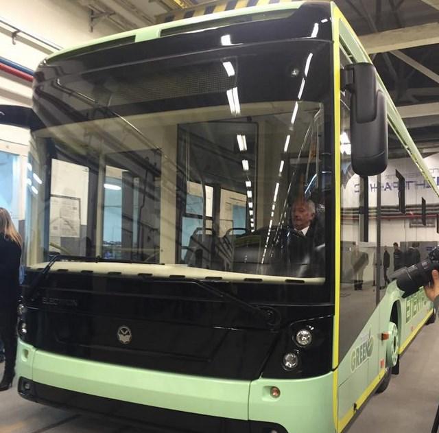 Украинский электрический автобус