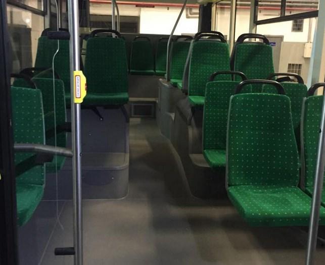 Салон электроавтобуса «Электрон Е19101»