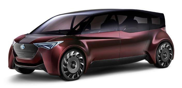 Водородный минивэн Toyota получил запас хода 1000 км