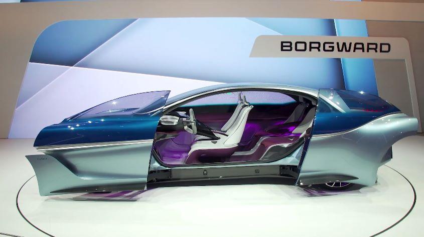 Невероятно красивый электромобиль Borgward Isabella