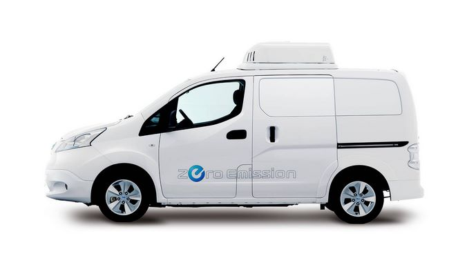 электроминивэн e-NV200 Fridge