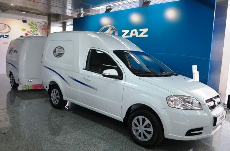 Новые украинские электромобили ZAZ VIDA Cargo EV будут работать в «Новой Почте»