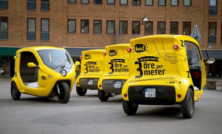 Электрические такси-поды