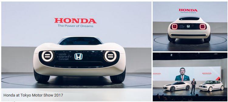 Новые электрокары Honda