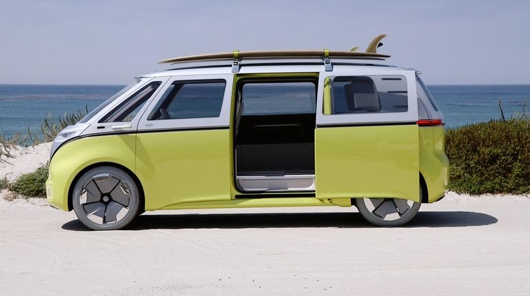 Электрический вэн VW I.D. Buzz выйдет в серию в 2022 году