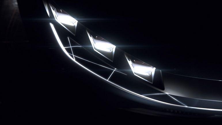 светодиодные фары электромобиля