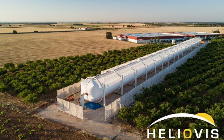 Мобильная солнечная электростанция на концентраторах
