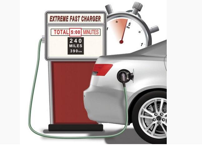 Сверхбыструю зарядку батарей электромобиля за 5 минут обещает Enevate