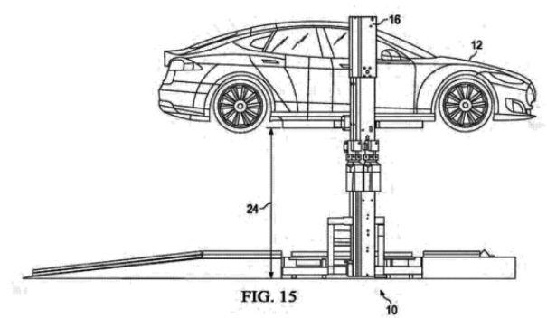 Батареи электромобилей Tesla можно будет заменить впути за15 мин.