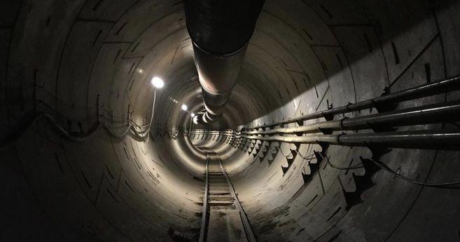 Подземный тоннель Элона Маска Гиперлуп