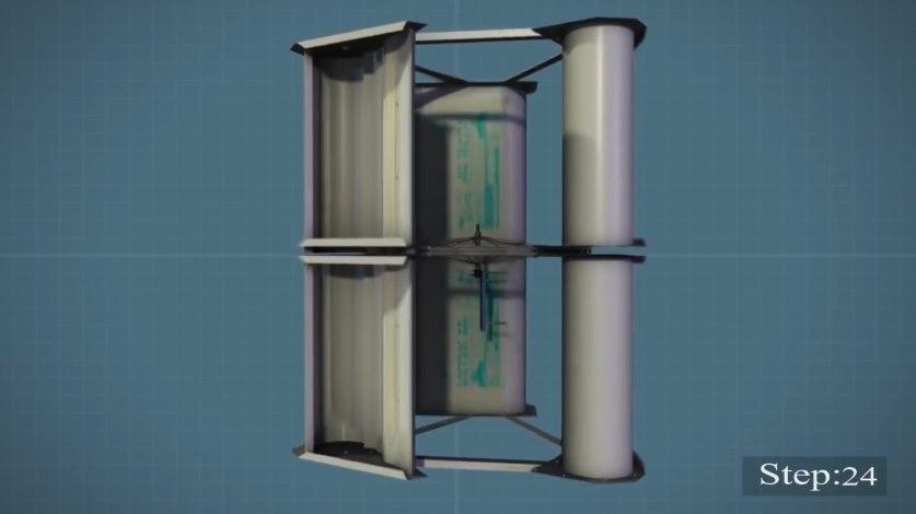 ветряной генератор на вертикальной оси