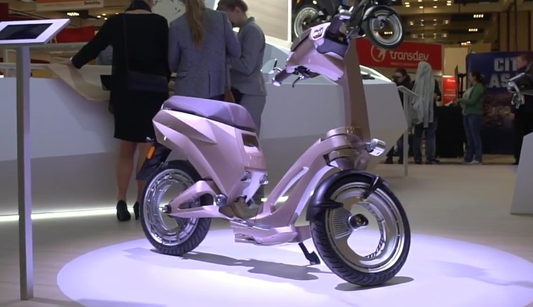 Electric Scooter Ujet CES 2018