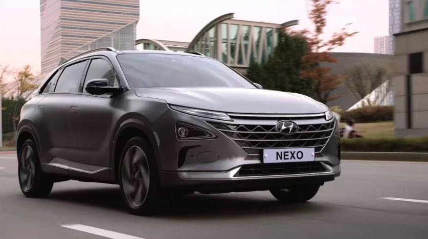 Hyundai Nexo водородный автомобиль цена