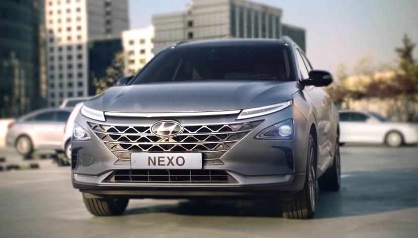 Кроссовер на водороде Hyundai Nexo