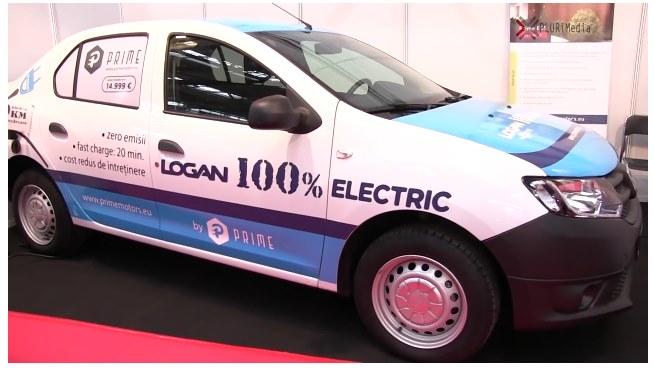 Электрический Логан