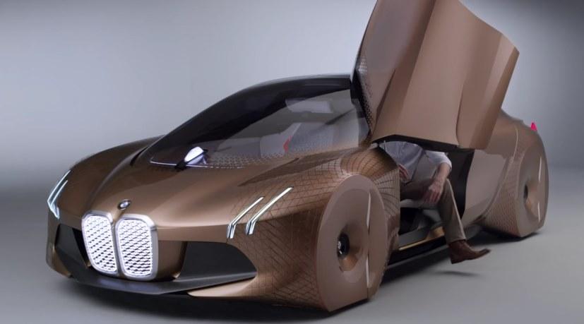 Электромобиль BMW iNext