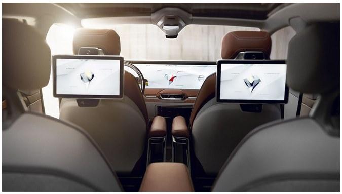 Китайский беспилотный автомобиль