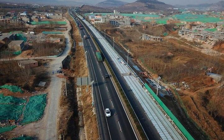 Электрогенерирующее шоссе Китай
