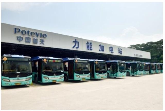 Целый город в Китае перешел на электрические автобусы