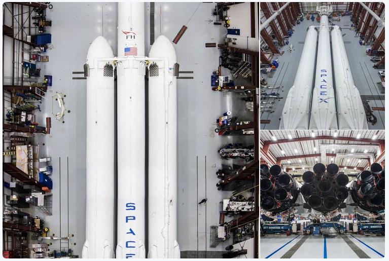 Falcon Heavy Elon Musk