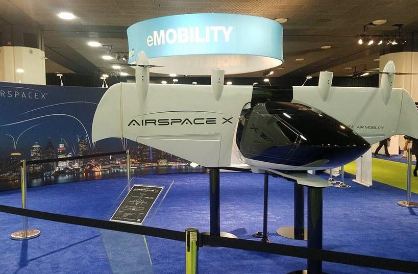 Аэротакси AirSpaceX Mobi One