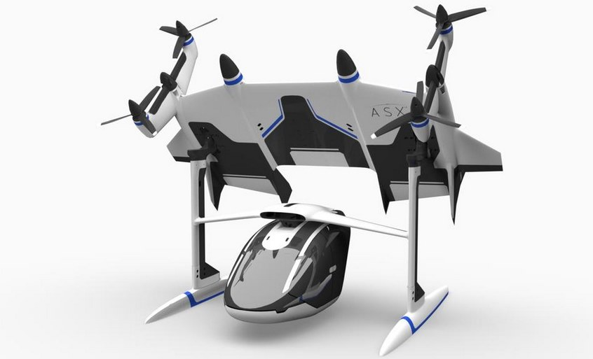 Летающее такси на электротяге Mobi