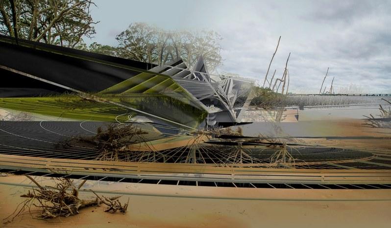 Представлен «умный» дом, способный зарываться в землю в случае ураганов