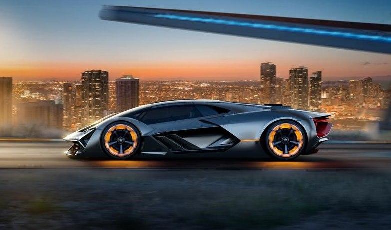 Lamborghini электромобиль будущего
