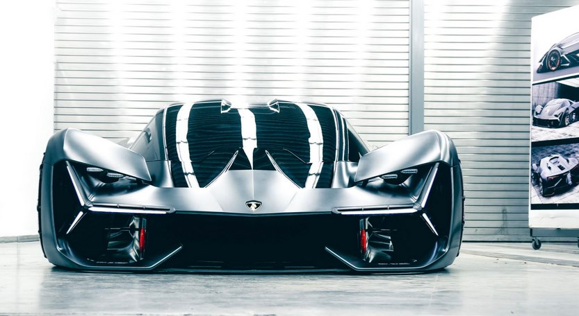 Спортивный электроавтомобиль Ламборджини
