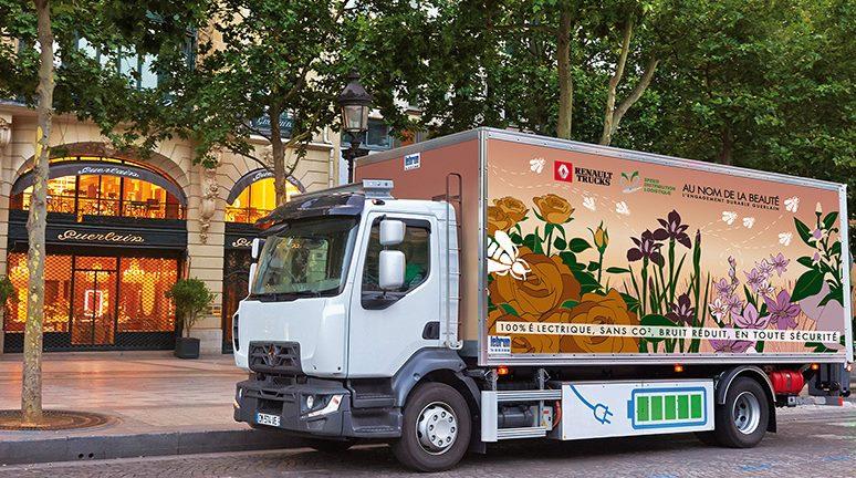 Renault Trucks готовит линейку электрогрузовиков к выходу на рынок в 2019 году