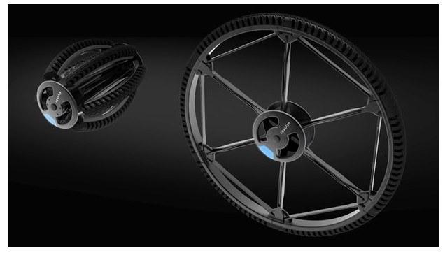 Revolve: уникальное складное колесо для велосипедов