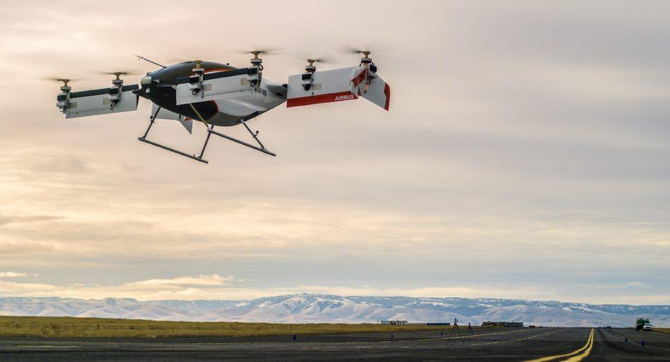 Автономное летающее такси Airbus