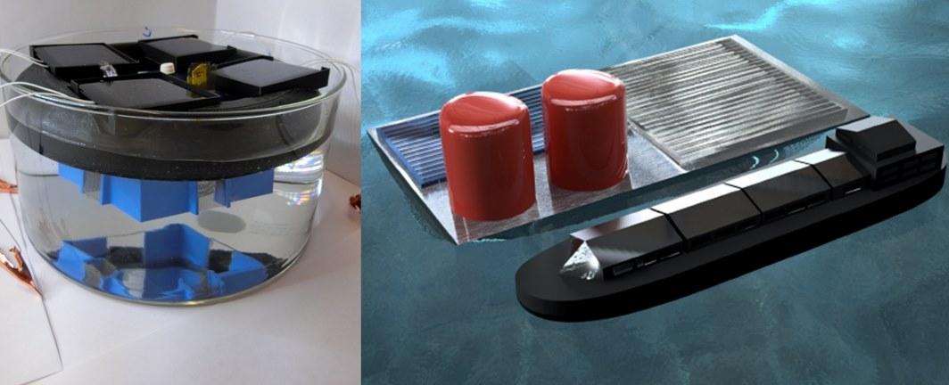 Плавучие солнечные платформы будут добывать водород из морской воды за счет электролиза