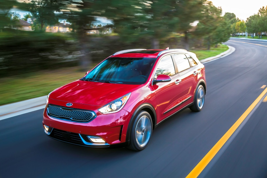 Kia Niro Hybrid Utility Vehicle 2017