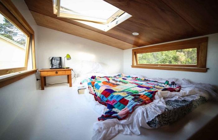 Спальня автономного экодома