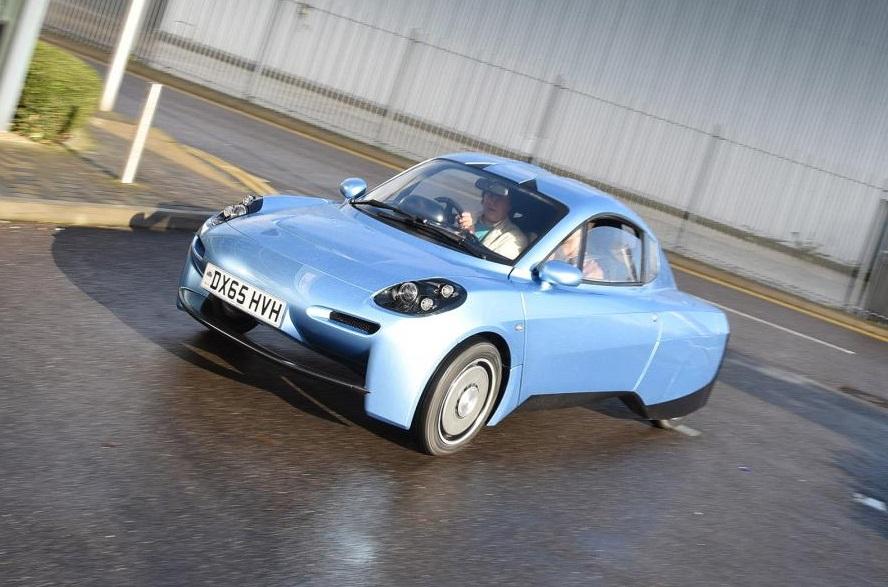 британское авто на топливных ячейках