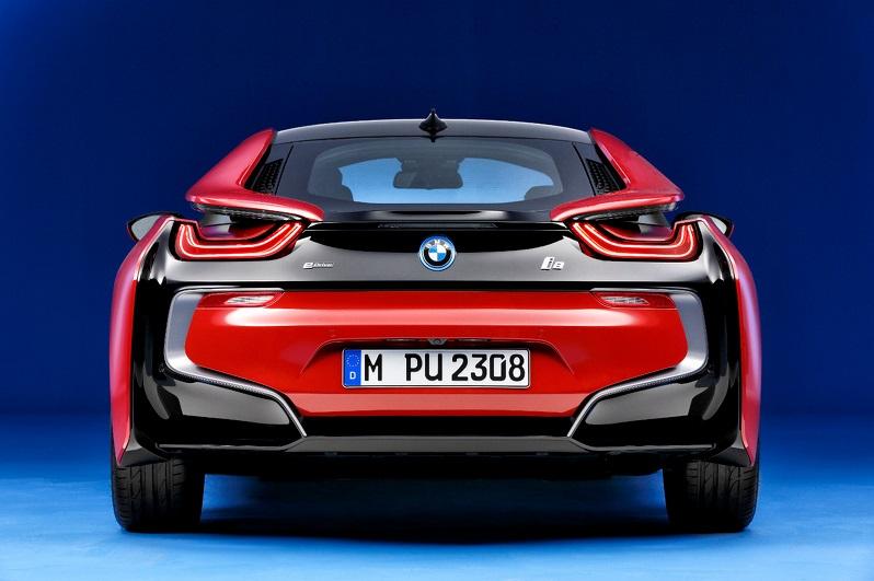 Женевский автосалон BMW i8 Protonic Red Edition