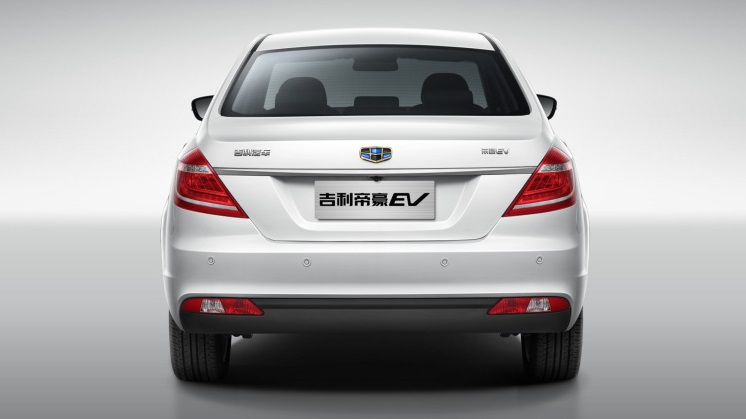 Geely Emgrand EV «Blue Geely Initiative»