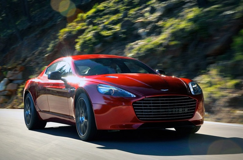 Aston Martin Rapid S electric car