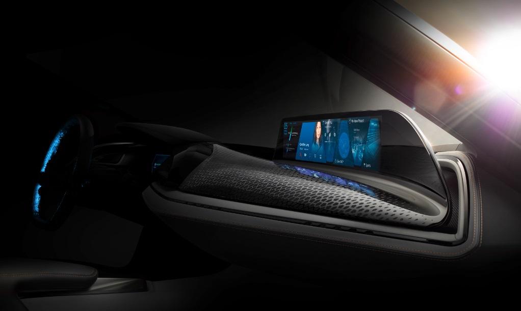 Концепт автомобиля будущего BMW Vision Car