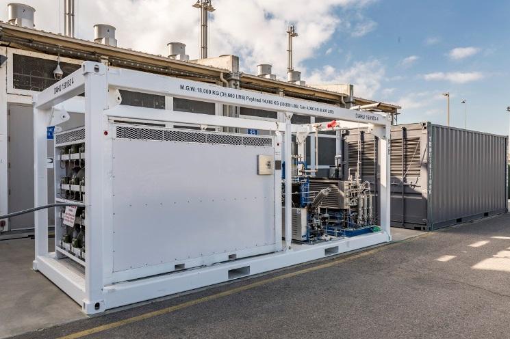 Система храниния энергии на водородных топливных элементах