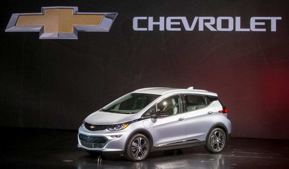 электрокар Chevrolet Bolt EV