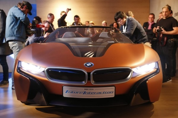 BMW i Vision Future Interaction Car CES 2016
